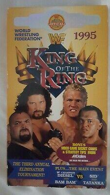 WWF King of the Ring 1995 VHS 95 Coliseum Video Wrestling PPV Tape WWE Vintage