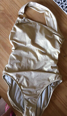New Jantzen Gold Swimming Costume Size 10
