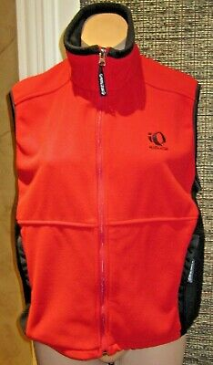 PEARL IZUMI Red / BLACK FLEECE VEST - WOMENS SIZE Medium in EUC
