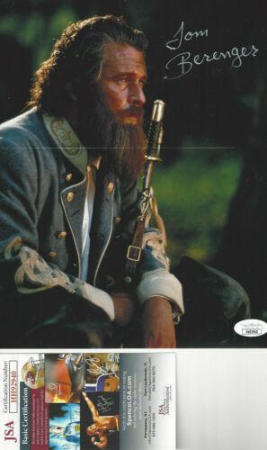Gettysburg Lieut. Gen. James Longstreet Tom Berenger autographed 8x10 photo JSA