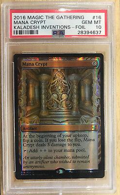 Sol Ring Vault MTG Collection Repack Kaladesh Inventions Mana Crypt Sword!