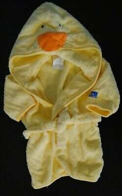 - Carters Boy Girl Infant Toddler Terry Cloth Bath Robe Pool Coverup One Size EUC