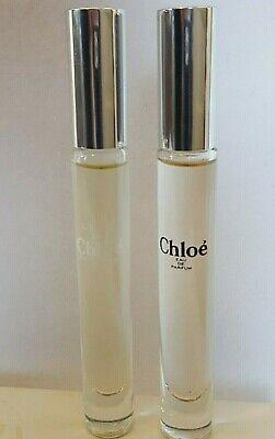 Set of 2 CHLOE Perfume & L'Eau de Chloe Eau de Toilette .20 oz Rollerballs