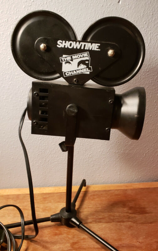 Showtime/The Movie Channel HTF Camera Lamp Movie Theater Cinema Prop Light Decor