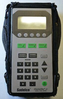 Sadelco Displaymax Jr. 3000 Signal Level Catv Meter