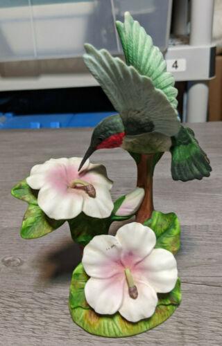 "Vintage 7"" Hummingbird Statue, Gallery Originals Bird Figurine Animal Sculpture"