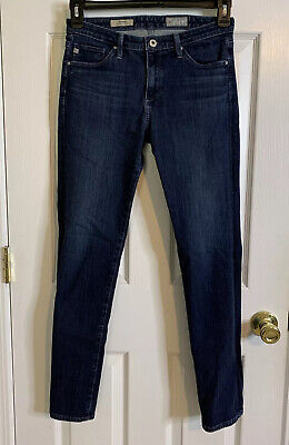 """Adriano Goldschmied AG """"the Prima"""" mid-rise cigarette jeans size 28R"""
