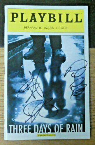 Julia Roberts Bradley Cooper Paul Rudd Autographed Playbill with Full JSA Letter
