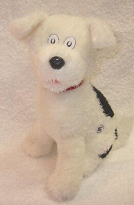 Dr Seuss CAT IN THE HAT movie merchandise Black White DOG Stuffed Animal plush
