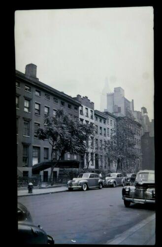"Nice 1940s New York City NYC Film Photo Negative 2.5""x4"" Clear!"