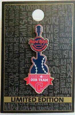 Cleveland Indians Rock (HARD ROCK ROCKSINO Cleveland Indians NORTHFIELD PARK OHIO Limited Edition 2018)