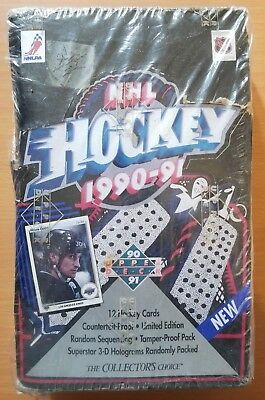 1990-91 Upper Deck NHL Hockey trading cards box Collector's Choice NEW ()