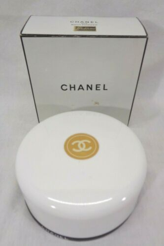 Vintage Chanel No. 5 Bath Powder Puff Screen And Insert 8oz Sealed Size 730
