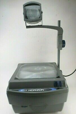 Apollo Horizon 2 Model 16000 Overhead Projector V16002M + 2 Extra Bulbs