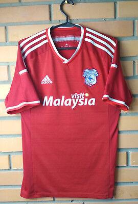 Cardiff City Away football shirt 2015-2016 Adizero player issue jersey Adidas image