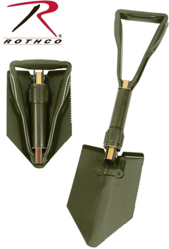 Military Style Tri-Fold Shovel Survival Camping Scouting Entrenching Tool 828