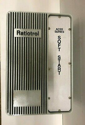 Boston Gear Acss47 Soft Start Ratiotrol Ac Motor Control