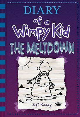 The Meltdown (Diary of a Wimpy Kid by Jeff Kinney Hardcover FREE SHIPPING NEW