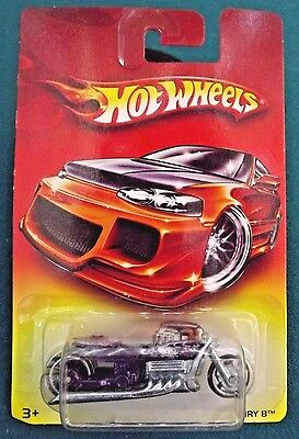 2006 Hot Wheels '07 Walmart Exclusives AIRY 8 Bike Purple
