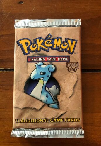 WOTC Pokemon Fossil Booster Pack Longpack UNWEIGHED