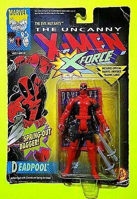 1ST DEADPOOL ACTION FIGURE 1992 UNCANNY X-MEN X-FORCE MARVEL COMICS TOY BIZ MOC