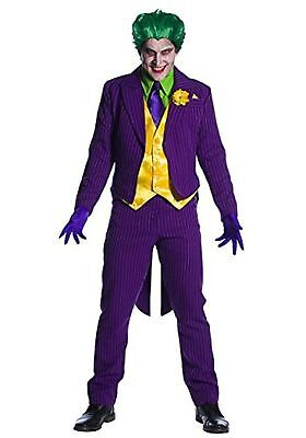 Male Joker Costume by Charades MENS SMALL New  riddler batman harley
