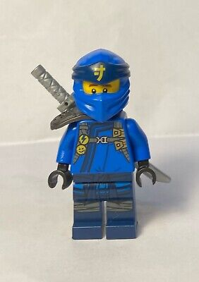 NEW Lego JAY NINJAGO Minifig w/ Sword