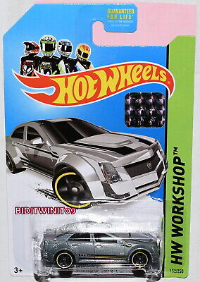 HOT WHEELS 2013 HW WORKSHOP CADILLAC CTS-V KMART FACTORY SEALED W+