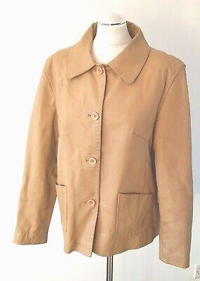 90's Leather jacket For Women Jacket Size UK 14 16 Vintage Retro