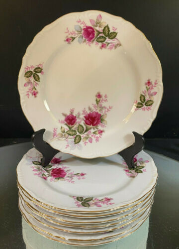 Harmony House--Eugenie Rose--Set of (4)  Salad Plates-Two Sets of Four Available