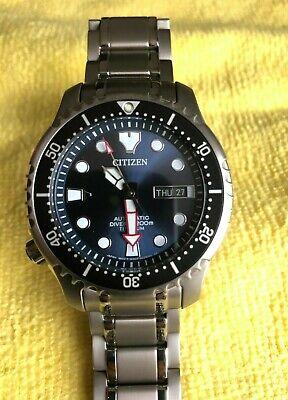 Citizen Promaster TITANIUM Automatic NY0100-50M 200M Divers Watch