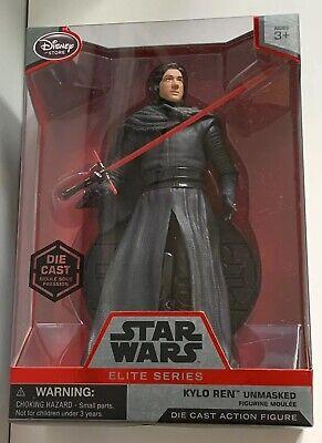 Disney Star Wars Elite Series Kylo Ren Unmasked Die Cast Action Figure Statue