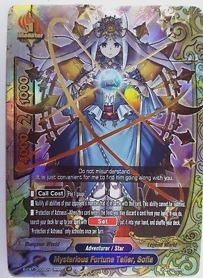 Future Card Buddyfight Mysterious Fortune Teller, Sofia D-CBT/0008EN RRR N-MINT - Mysterious Fortune Cards