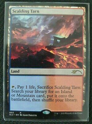 MTG: Scalding Tarn - Ultimate Edition Enemy Fetch Land. Secret Lair 2020