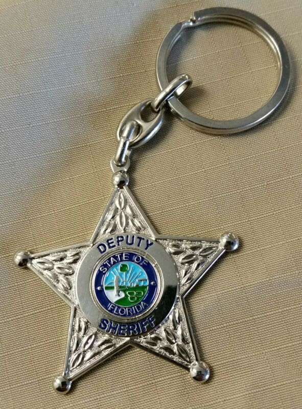 Keychain Florida Deputy Sheriff Star