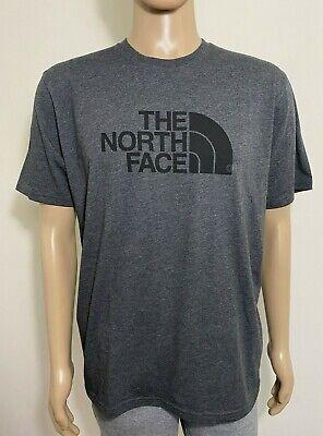 The North Face Men's Half Dome Tee Shirt TNF Dark Grey Heather S L XXL