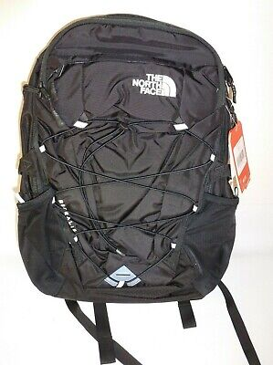 New The North Face Borealis Black Backpack Laptop Book Bag