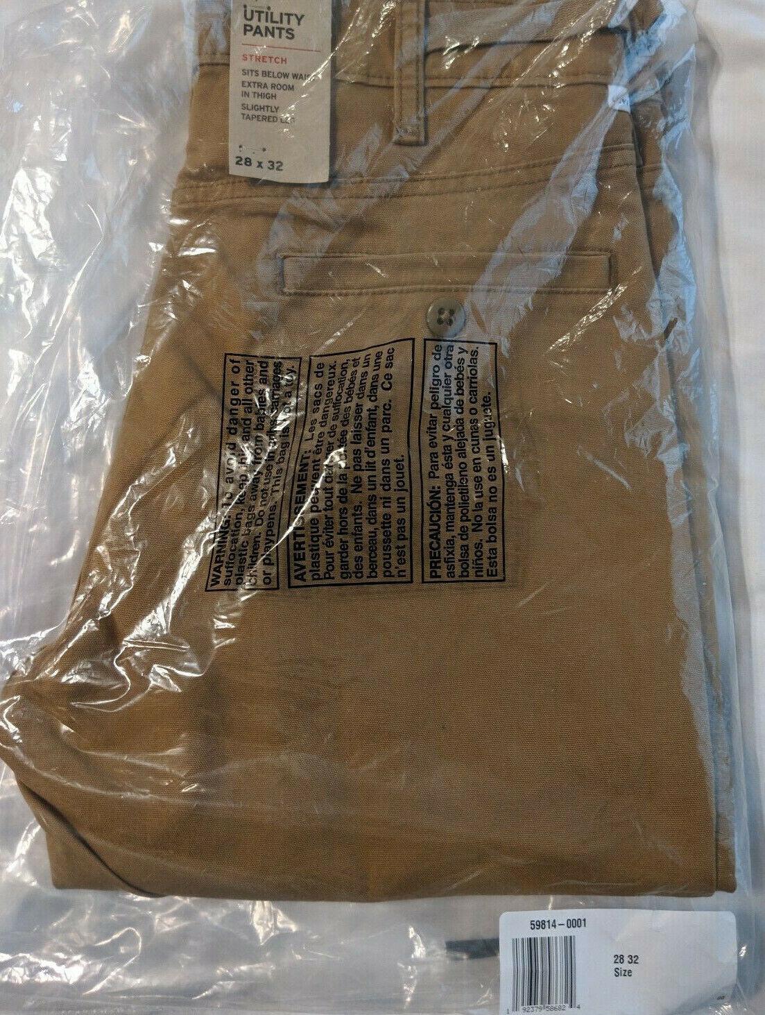 NEW Levi's Mens 511 Slim Fit Chino Hybrid Pant, British Khak