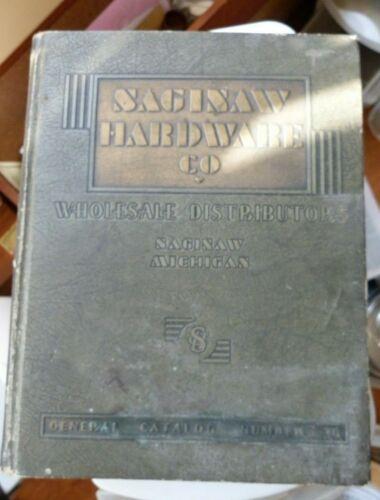 1936 Saginaw Hardware Co Catalog 950 Pg Tools Rifles Bikes Sporting Goods + More