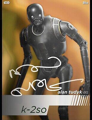 Star Wars Digital Card Topps K-2SO Signature Alan Tudyk CC 57