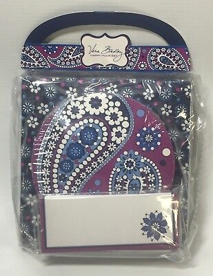 Vera Bradley HAPPY HOUR SET Napkins Coasters Crafting Scrap Booking BOYSENBERRY
