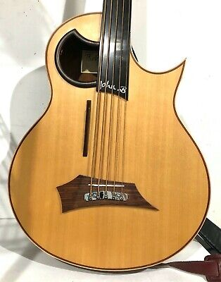 Warwick John B Alien 5 String Acoustic Electric Bass Guitar w/ Warwick Case