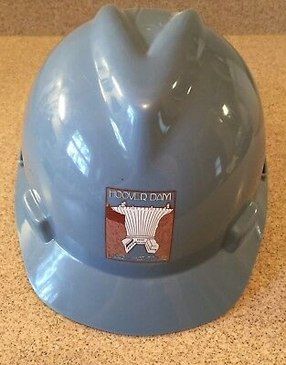 HOOVER DAM V-GARD HARD HAT TOUR BLUE DAM DOG SNACKATERIA STICKER 1 - #8140-4