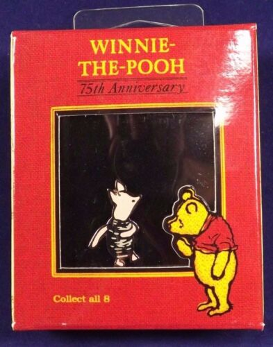 Winnie The Pooh Piglet Pin 75th Anniversary Disney Gallery Boxed
