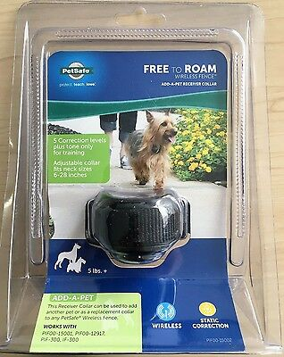 PETSAFE Free To Roam Wireless Fence Add-a-pet receiver collar