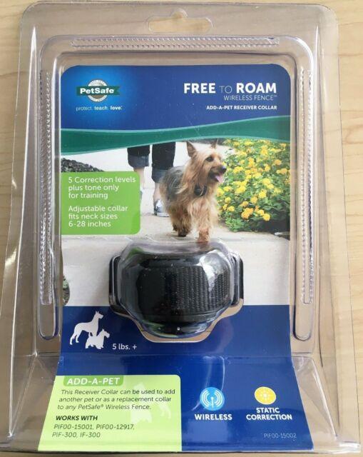 petsafe free to roam wireless fence addapet receiver collar - Petsafe Wireless Fence