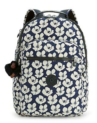 Kipling CLAS SEOUL Backpack with Laptop Compartment - Bold Flower