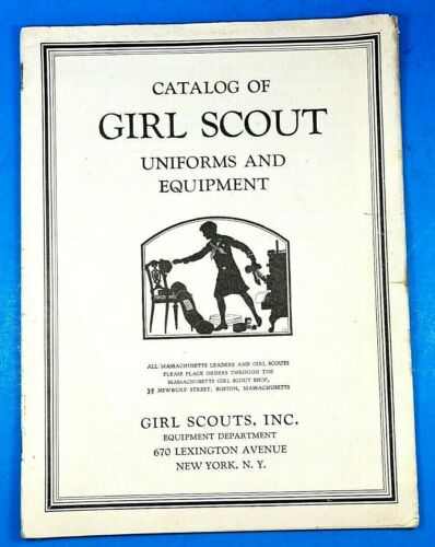 Girl Scout Catalog 1930
