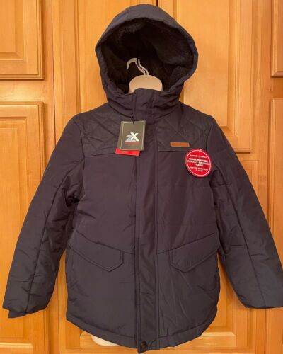 NWT Boys ZEROXPOSUR Winter Coat, Navy Blue, V52232SS Nightfall (Navy) MSRP $100
