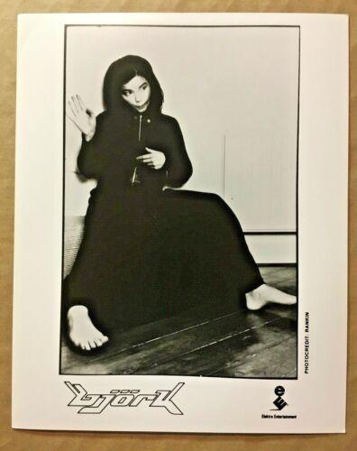 TWO vintage1990s Björk press kit photos, B&W 8x10s, GAY INTEREST